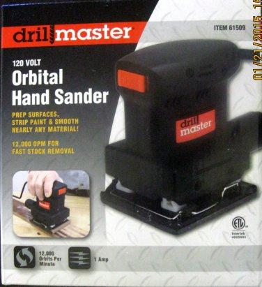 New Drillmaster 120 Volt Orbital Hand Sander #61509