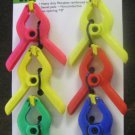 "New Pittsburgh 6-Pc. 7/8"" Spring Clamp Set #69375"