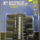 NewWarrior 9-Pc. Qick release SAE Magnetic