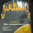 New Olympia-Tools 18-Pc. Scredriver Set #81-938-116