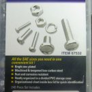 New Storehouse 240-Pc. Nut and Bolt Assortment #67532