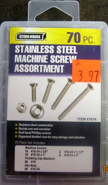 stainless steel machine assortment