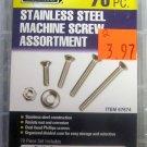 New Storehouse 70-Pc. Stainless Steel Machine Screw Assortment #67674