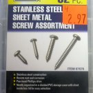 New Storehouse 52-Piece Stainless Steel, Sheet Metal Screw Assortment #67676