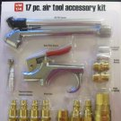 New Central Pneumatic 17-Pc. Air Tool Accessory Kit #68236