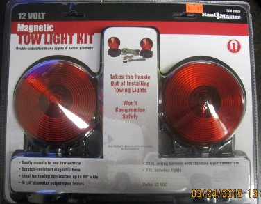 New 12 Volt Magnetic Tow Light Kit #69626