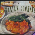 Used Time Life Great Taste Low Fat Italian Cooking