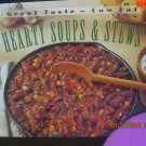 Used Time Life Great Taste Low Fat Hearty Soups & Stews