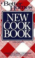 New Better Homes and Gardens New Cook Book Eleventh Issue