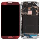 Samsung S4 M919 i337 LCD Screen with Frame Assembly Red
