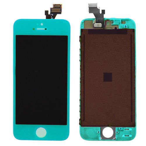 New OEM iPhone 5 LCD + Digitizer Touch Screen Assembly - Baby Blue