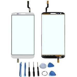 Touch Screen Glass Digitizer for LG G2 D800 D801 D803 LS980 VS980 with free tools (Not include LCD)