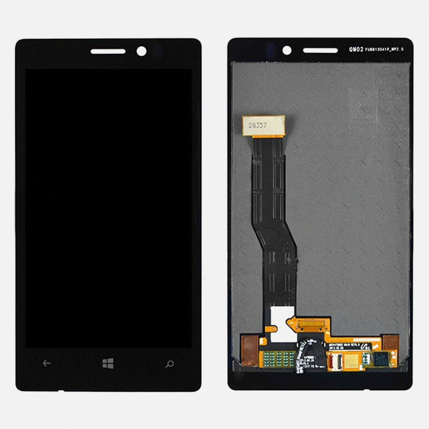 OEM Nokia Lumia 925 LCD Display Touch Outer Glass Digitizer Screen Assembly