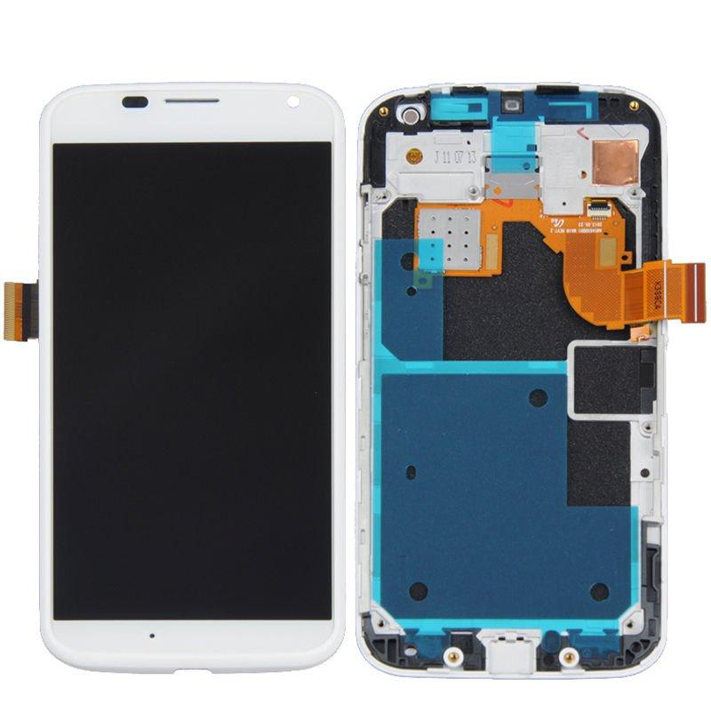 NEW Motorola Moto X XT1060 XT1058 XT1056 XT1053 LCD Screen Digitizer Touch + Frame OEM