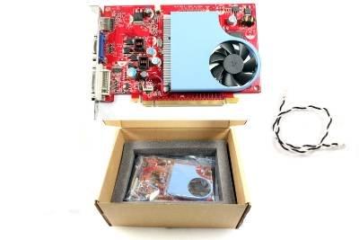New OEM HP Geforce GT120 1GB DDR2 PCI-e Video Card w/ Standard Bracket 517084-001