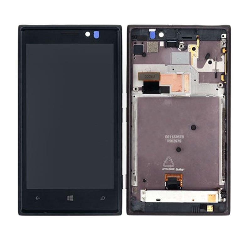 New Nokia Lumia 925 LCD Touch Screen Digitizer + Black Frame