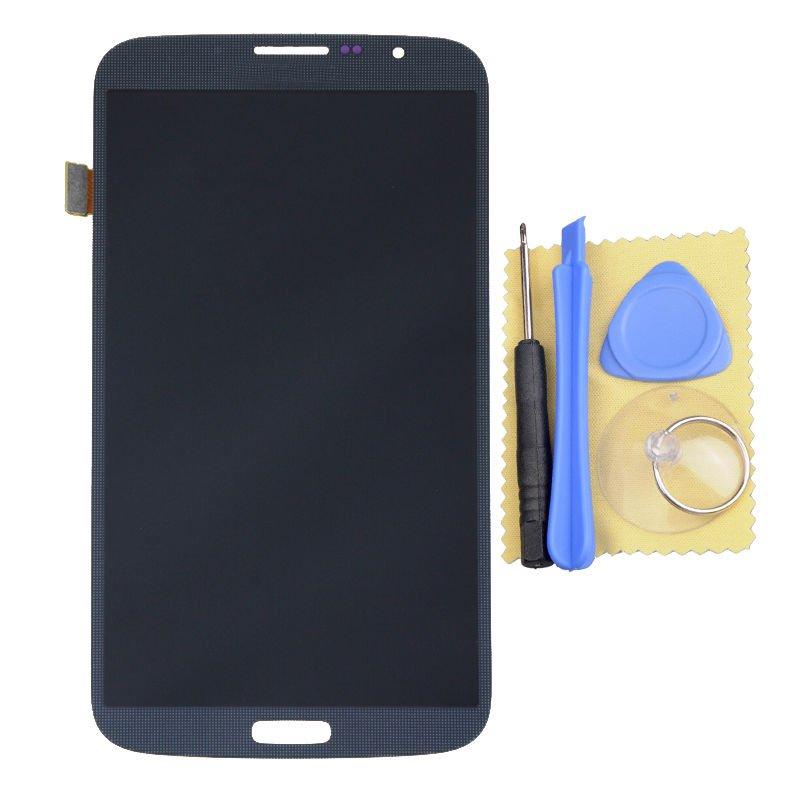 Samsung Galaxy Mega 6.3 i527 i9200 i9205 Blue LCD Touch Screen Digitizer