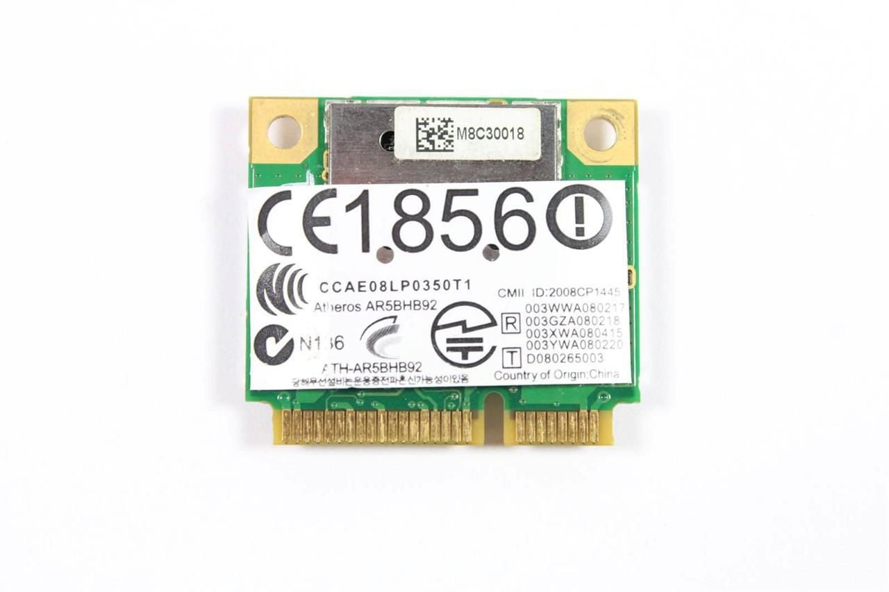 NEW Atheros AR9280 AR5BHB92 WIRELESS CARD MINI PCIe HALF WIFI HP P/N 495848-002
