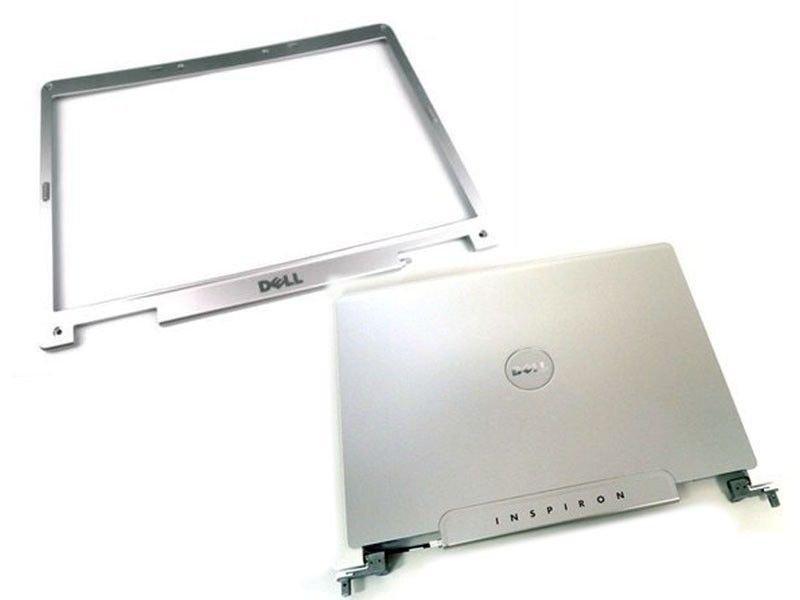 """NEW Dell Inspiron E1505 6400 1501 15.4"""" LCD Back Cover Hinge Bezel Screw Rubber"""