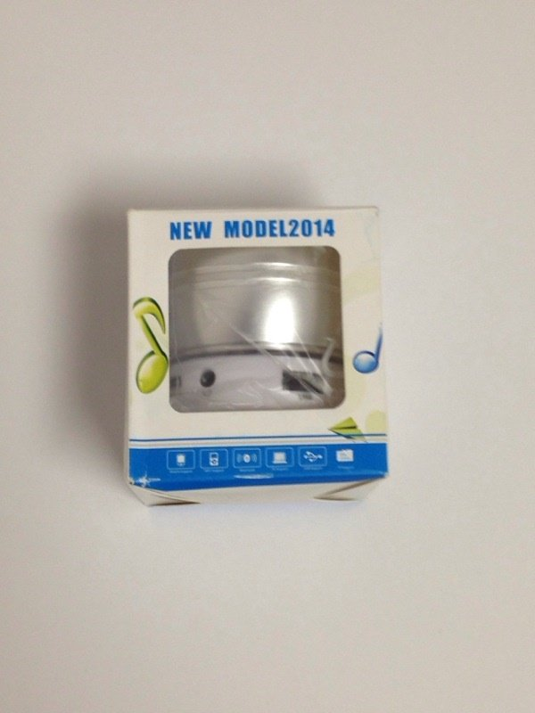 New Box Pack Travelling Speakers Wireless Bluetooth MP3, Mobile Phone Suported S50 - Silver