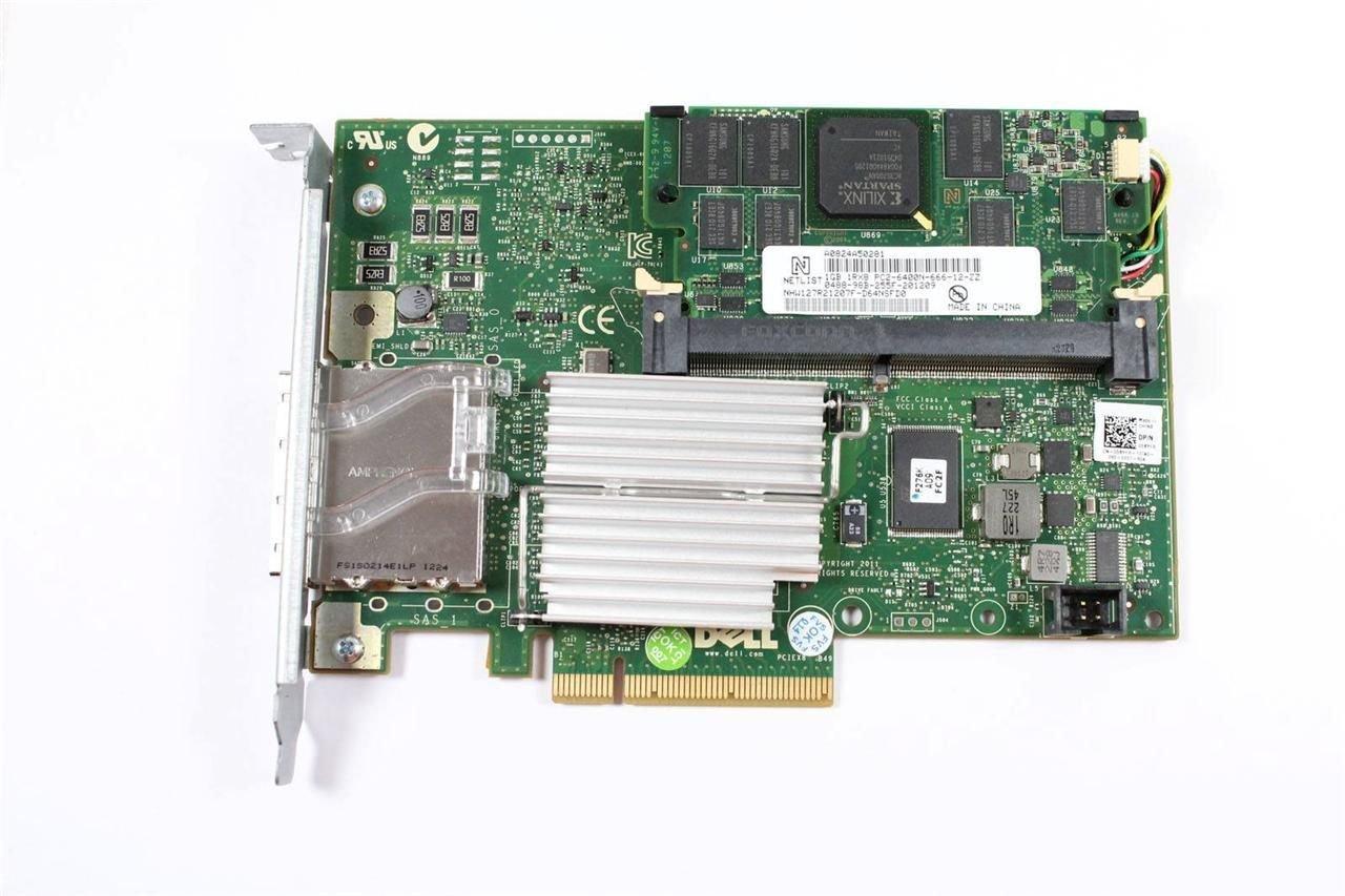 New OEM Dell Poweredge R610 PERC H800 6Gbps 1GB RAID Controller Card VVGYD  85KJG 5KYFR