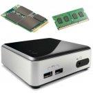 New OEM Intel D54250WYK NUC Kit, Core i5-4250U, Haswell, BOXD54250WYK1, 4GB, 128GB mSATA