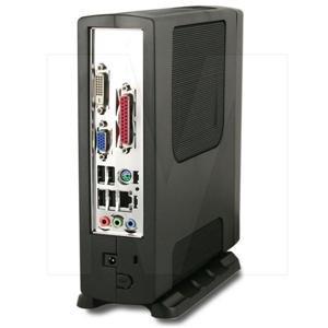 Intel Atom D2550 Compact Mini-ITX PC w/2GB,60GB SSD,T3410, mini PCI-E, D2550MUD2