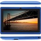 Dual Core A23 1.5GHz Dual Camera Brand New iRulu Tablet PC - Blue