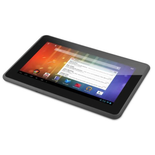 "7"" Google Play Android 4.1 Ematic Genesis Prime 4GB HD Multimedia Tablet w/ WiFi - Black"