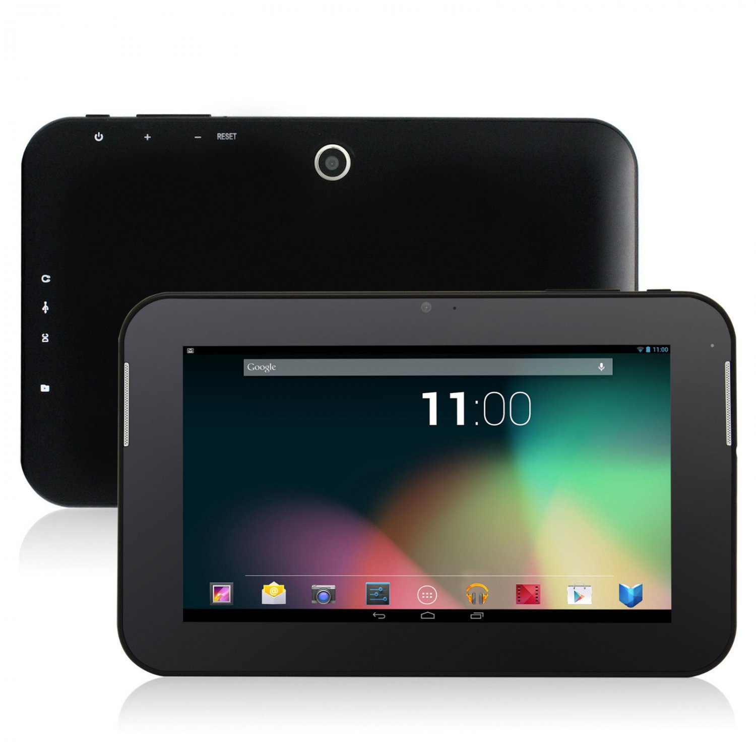 Black 8GB Dual Core Google Android 4.2 Tablet PC Cortex A9 3G 2 Camera Bundle Case