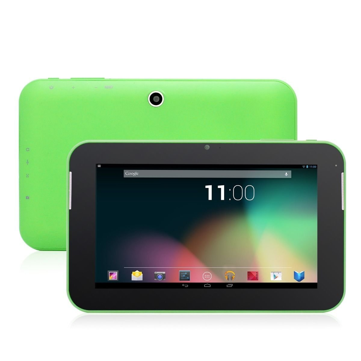 Green 8GB Dual Core Google Android 4.2 Tablet PC Cortex A9 3G 2 Camera Bundle Case