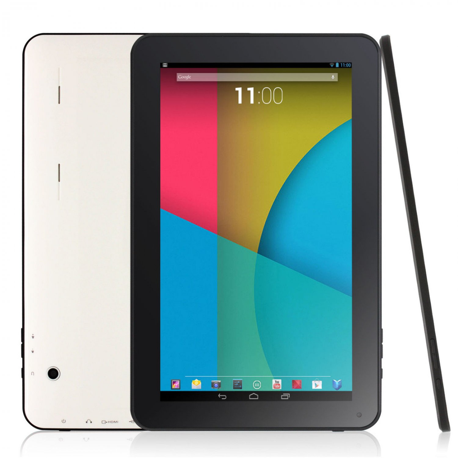 "New Quad Core Google Android 4.4 KitKat Tablet PC 10"" 16GB 1GB Bluetooth HDMI"