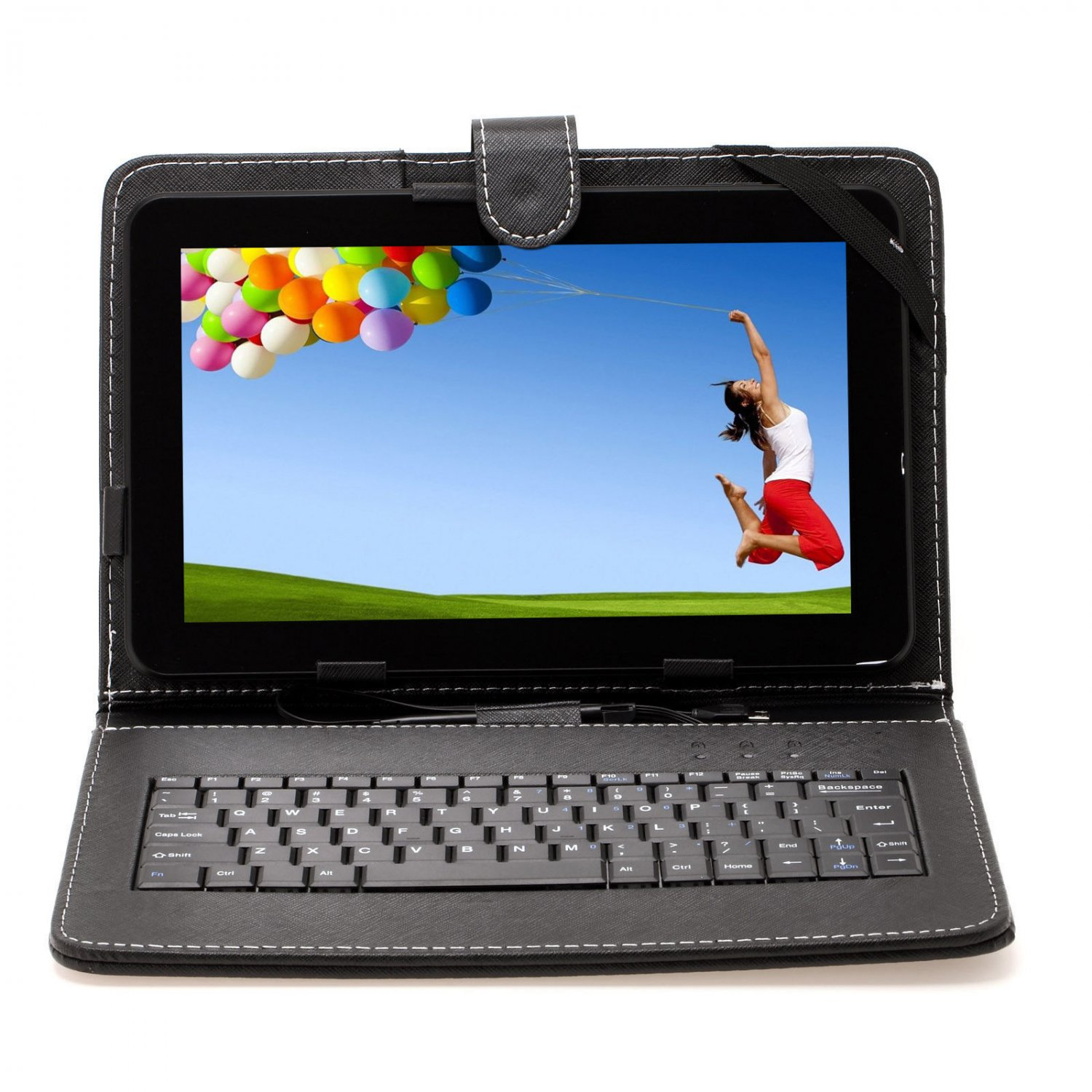 """iRulu 10"""" Android 4.2 Dual Core Tablet PC A20 Dual Cameras w/ Micro USB Keyboard"""