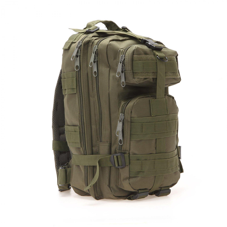 30L Military Tactical Backpack Rucksacks Sport Camping Molle Trekking Bag 600D