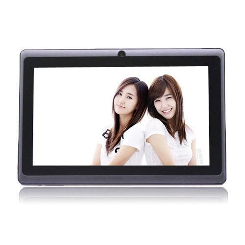 """iRulu 7"""" Android 4.03 Tablet PC A13 1.2GHz 4GB 7in-Black Bonus 2in1 ball pen"""