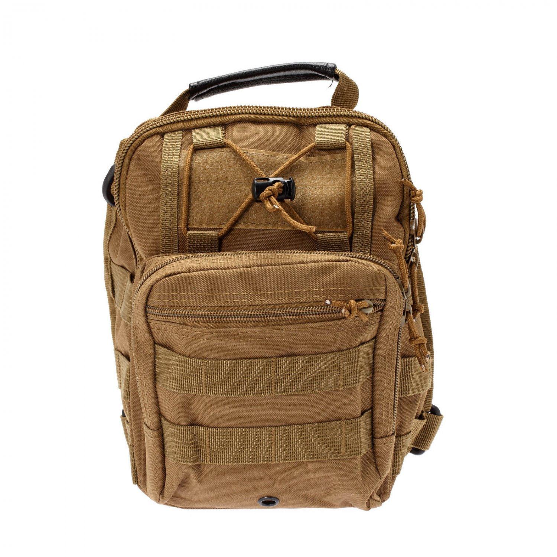 Outdoor Military Shoulder Tactical Backpack Rucksacks Sport Camping Travel Bag