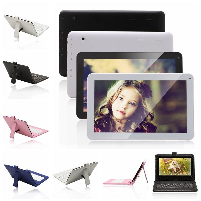 "iRulu 10.1"" Android 4.2 Tablet PC Dual Core Camera A9 8GB HDMI WIFI w/ Keyboard"