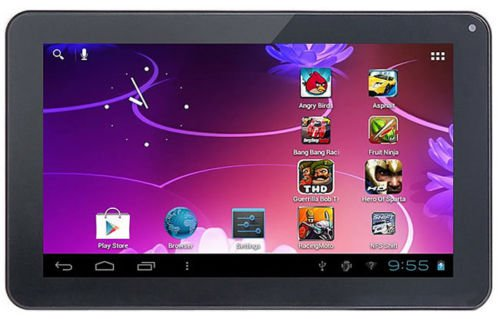 """iRulu 9"""" Multi Capacitive Tablet PC Google Android 4.0 A13 1.2GHz Camera WiFi"""