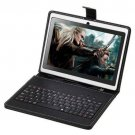 """16GB iRulu 7"""" Android 4.2 Tablet PC A23 Dual Core 1.5GHz Dual Cam + Keyboard"""