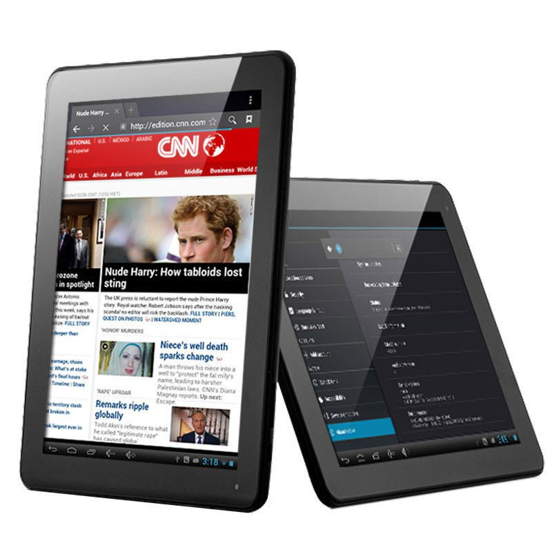 """iRulu 9.7"""" Android 4.22 Dual Core Tablet PC 10 Point Capacitive 8G/1GB Wi-Fi"""