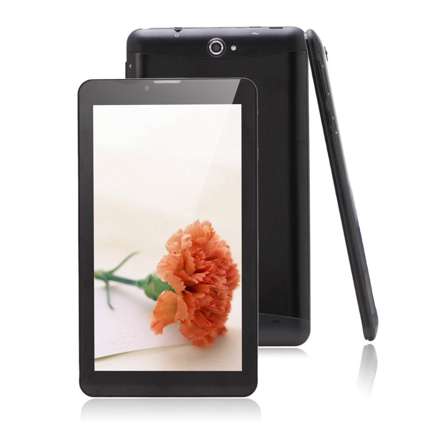 """iRulu 7"""" 1024*600 3G Phablet Tablet Dual Core&Cam WIFI Android 4.2 GPS Bluetooth"""