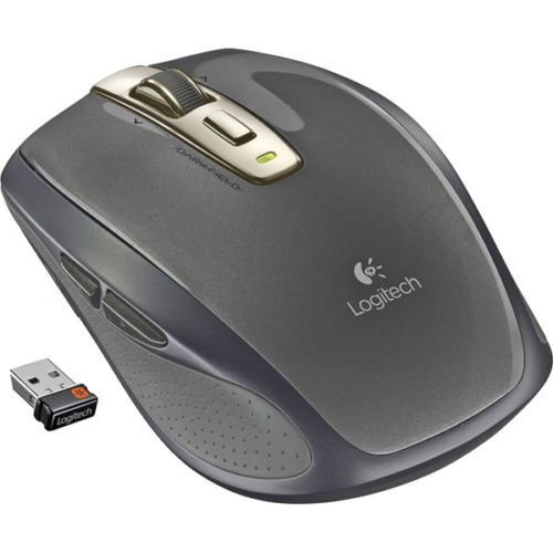 Logitech Anywhere MX Wireless Laser Mouse For PC & Mac 910-002896