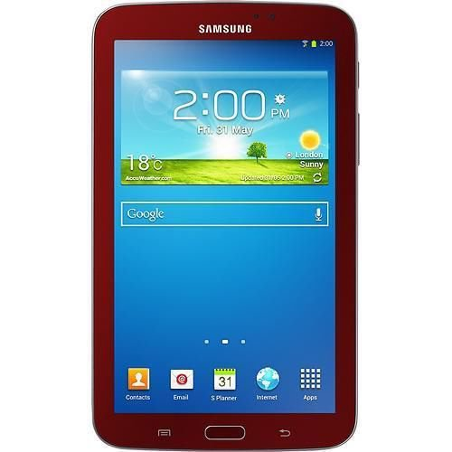 Samsung Galaxy Tab 3 7.0 SM-T210 8GB 1.20GHz 1GB Android 4.2 Wi-Fi Tablet - RED