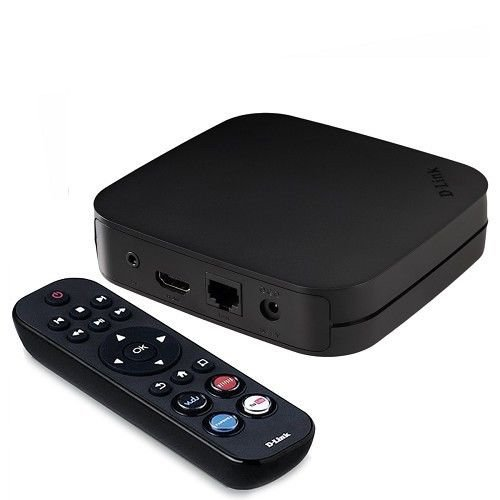 D-Link MovieNite Plus Streaming Media Player Home Theater DSM-312 HD Compatible