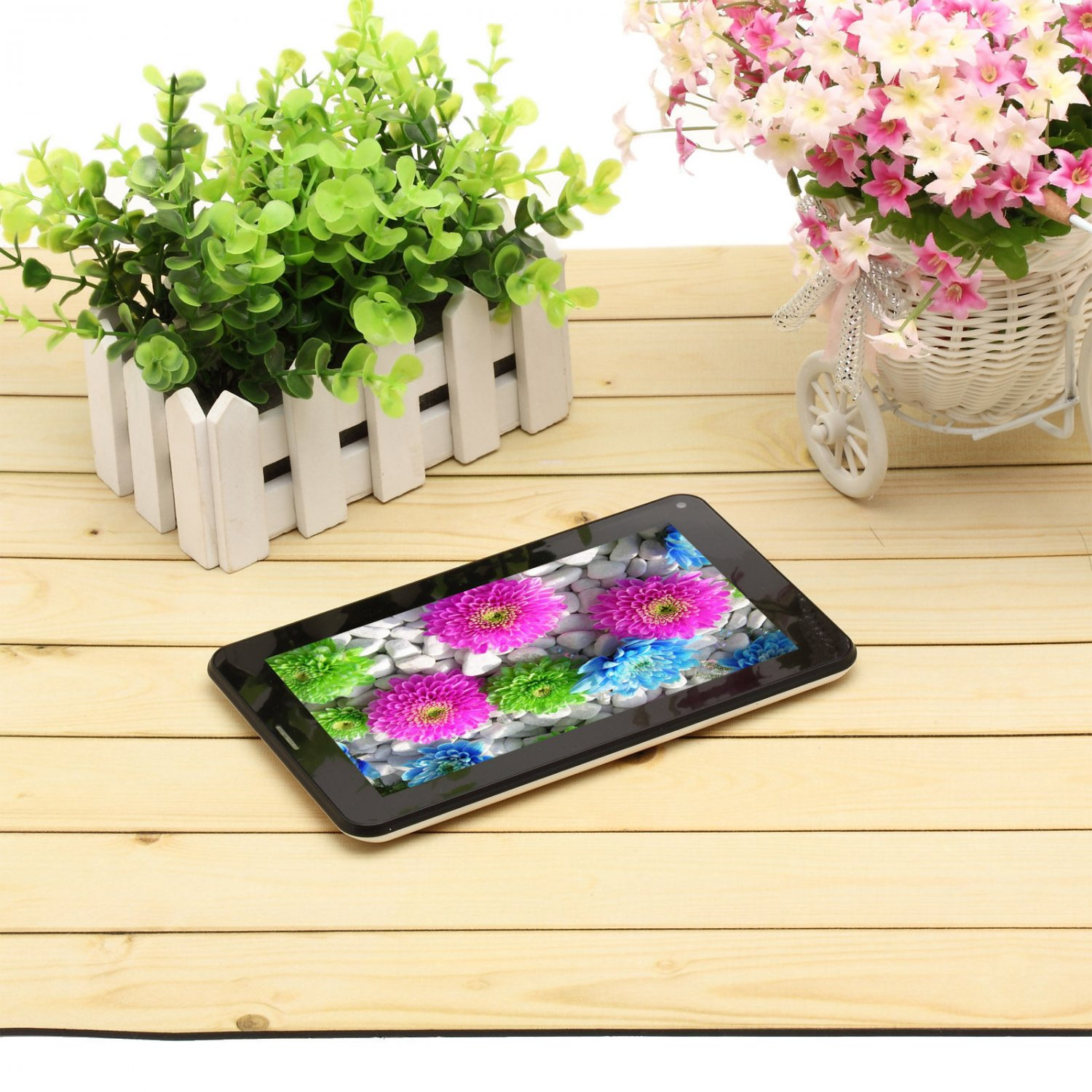 """iRulu 7"""" 2G Smart Phone Tablet A23 Bluetooth Dual Core Cam 8GB Android 4.2 WIFI"""