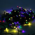 Green Real Leaf Flower Party Christmas String Lights