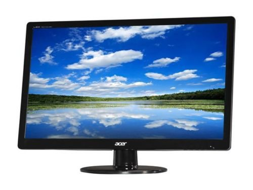 """Acer S Series S230HL Abd Black 23"""" 5ms Widescreen LED Monitor"""
