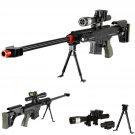 Spring Sniper Rifle FPS-315 Bipod Dummy Scope Silencer Airsoft Gun