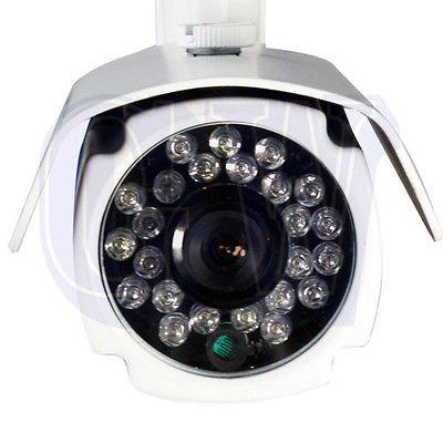 "GW 700TVL 1/3"" Sony SUPER HAD CCD II IR 3.6mm IR Outdoor Security Camera AC"