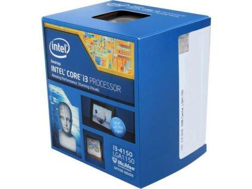 Intel Core i3-4150 Haswell Dual-Core 3.5GHz LGA 1150 54W Desktop Processor Intel